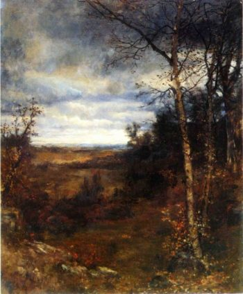 Fall Landscape | Jervis McEntee | oil painting