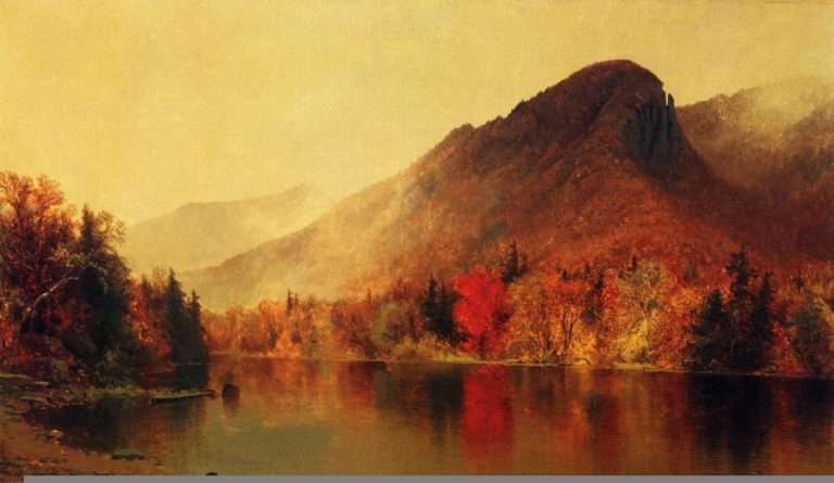 Eagle Cliff Franconia New Hampshire | Jervis McEntee | oil painting
