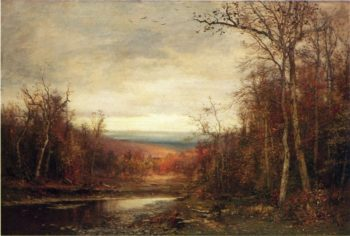 Clearing Skies | Jervis McEntee | oil painting