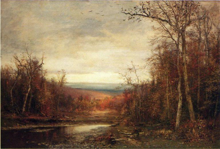 Clearing Skies | Jervis McEntee | oil painting