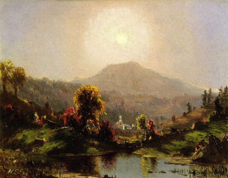 Autumn Light | Jervis McEntee | oil painting