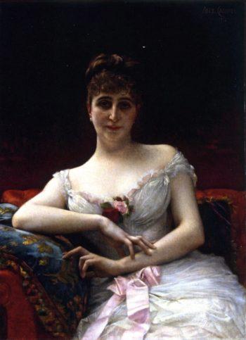 Madame Edouart Herve | Alexandre Cabanel | oil painting