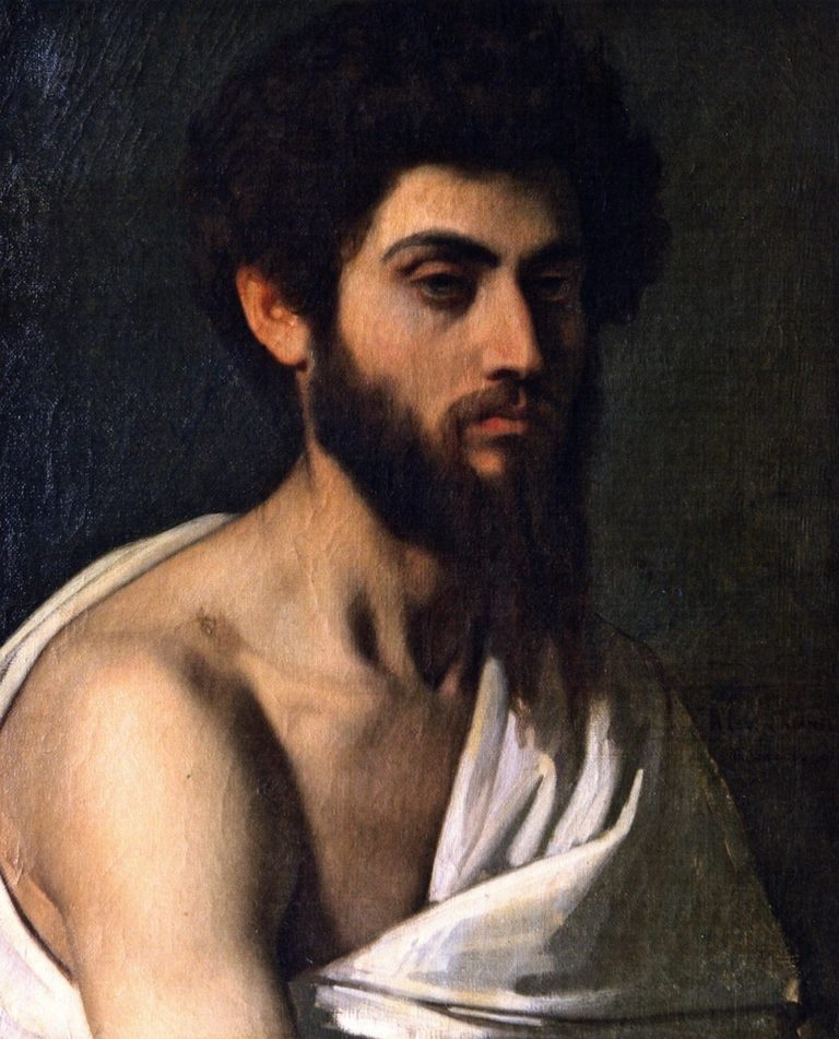 Young Roman | Alexandre Cabanel | oil painting