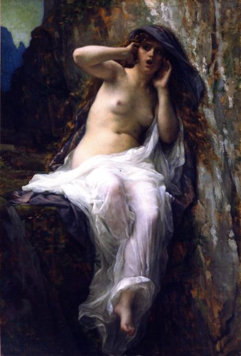 The Nymph Echo | Alexandre Cabanel | oil painting