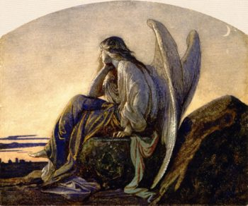 The Evening Angel | Alexandre Cabanel | oil painting