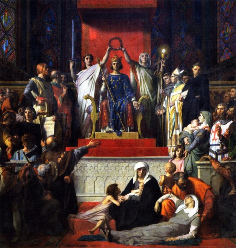 The Glorification of St. Louis | Alexandre Cabanel | oil painting