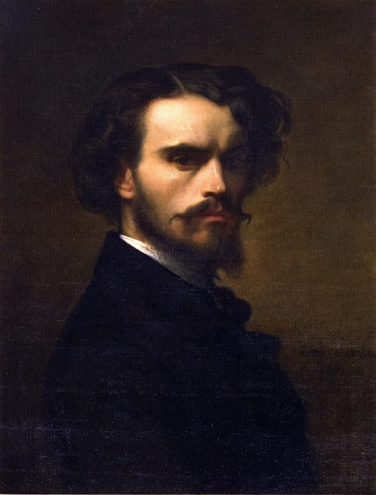 Self Portrait 1 | Alexandre Cabanel | oil painting