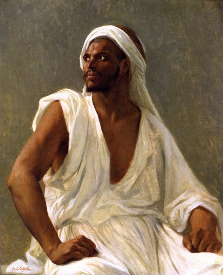 Portrait of an Arab | Alexandre Cabanel | oil painting
