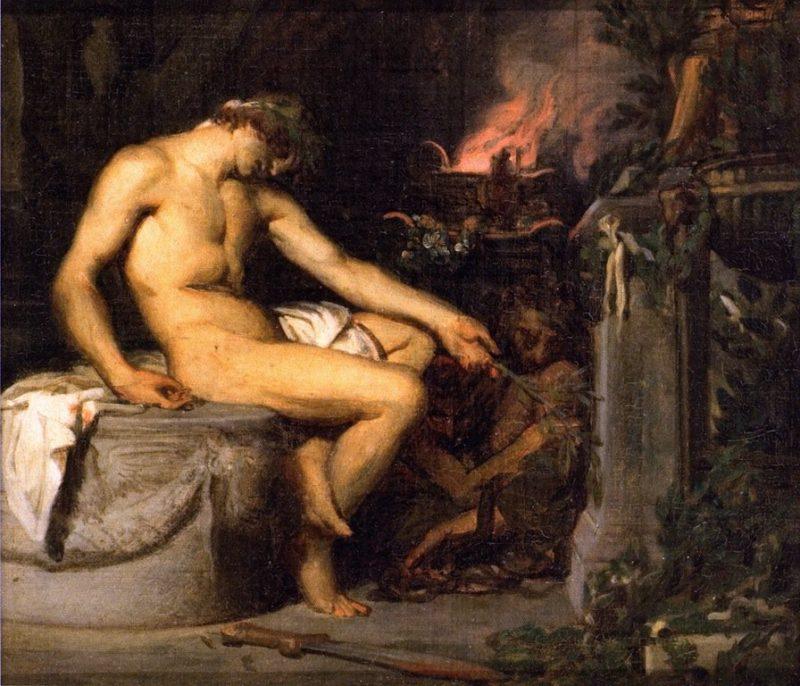 Orestes (sketch)   Alexandre Cabanel   oil painting
