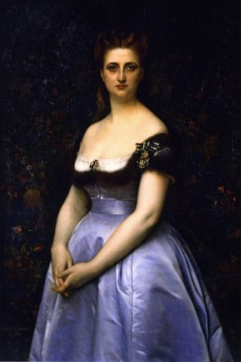 Madame Carette | Alexandre Cabanel | oil painting