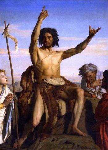 John the Baptist   Alexandre Cabanel   oil painting