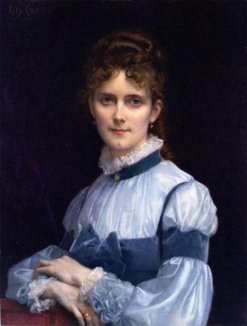 Fanny Clapp | Alexandre Cabanel | oil painting
