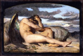 Fallen Angel (study) | Alexandre Cabanel | oil painting