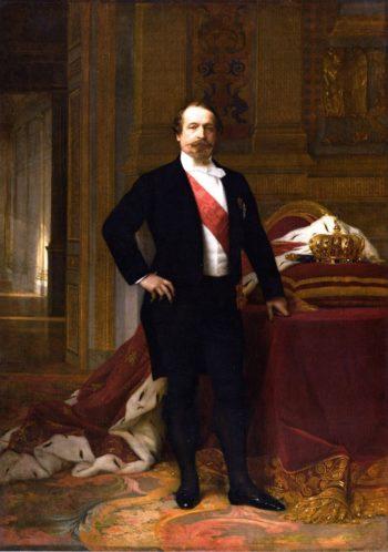 Emperor Napoleon III | Alexandre Cabanel | oil painting