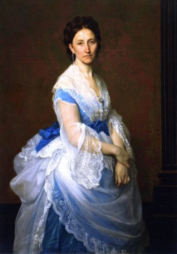 Baroness Paul von Derwies | Alexandre Cabanel | oil painting