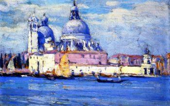 La Salute Venice | Clarence Gagnon | oil painting