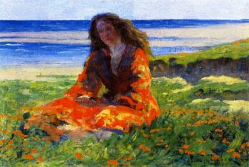 Katherine | Clarence Gagnon | oil painting