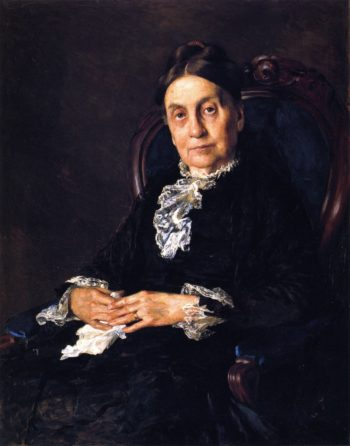 Mrs Samuel Mountfort Pitts | Gari Melchers | oil painting