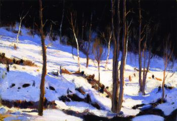 In the Clearing Charlevoix | Clarence Gagnon | oil painting
