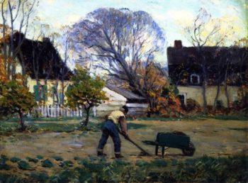 Fall Scene Baie Saint Paul | Clarence Gagnon | oil painting