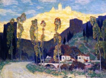 Evening Siena | Clarence Gagnon | oil painting