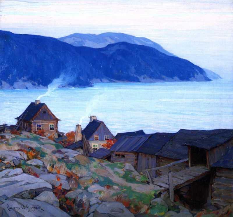 Evening on the North Shore 1 | Clarence Gagnon | oil painting