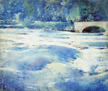 Above Niagara Falls | Emil Carlsen | oil painting