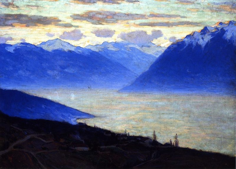 Daybreak Lake Geneva | Clarence Gagnon | oil painting