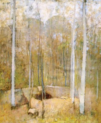 Autumn Forest | Emil Carlsen | oil painting