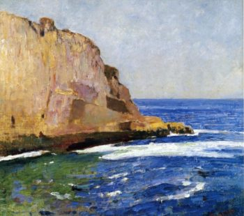 Bald Head Cliff York Maine | Emil Carlsen | oil painting