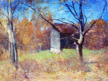 Behind the Artist's Studio | Emil Carlsen | oil painting
