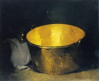 Brass and Copper | Emil Carlsen | oil painting
