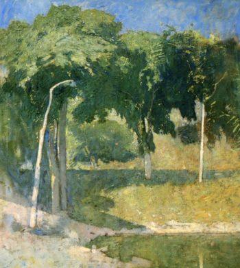 Lakeside Landscape | Emil Carlsen | oil painting