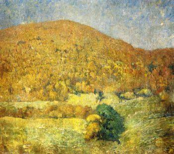 Landscape Orange Mountain | Emil Carlsen | oil painting