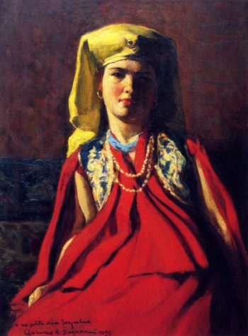 Armenian Woman | Clarence Gagnon | oil painting
