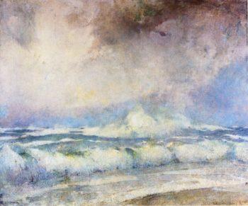 Meeting of the Seas | Emil Carlsen | oil painting