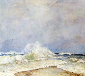 Meeting of the Two Seas | Emil Carlsen | oil painting