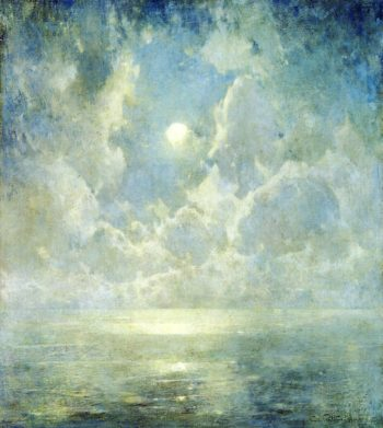 Moonlight on the Kattegat | Emil Carlsen | oil painting