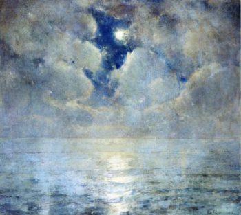 Moonlight Scene | Emil Carlsen | oil painting