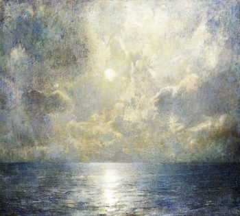 Moonlilt Seascape | Emil Carlsen | oil painting