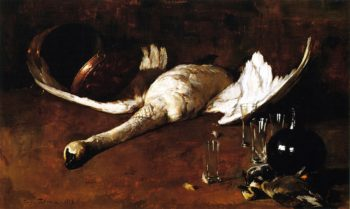 Still LIfe with Goose | Emil Carlsen | oil painting