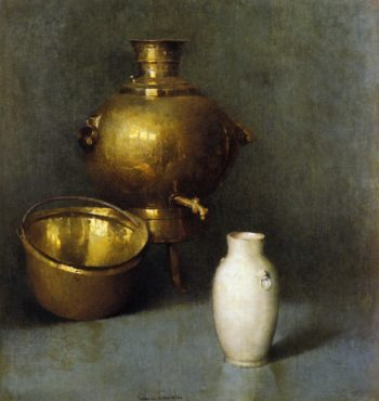 The Samovar | Emil Carlsen | oil painting