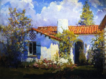 The Artist's Cottage | Alson Skinner Clark | oil painting