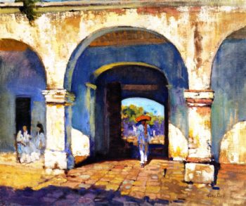 Sol y Sombra | Alson Skinner Clark | oil painting
