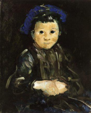 Boy with Blue Cap | George Benjamin Luks | oil painting