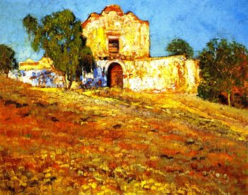 San Diego Mission | Alson Skinner Clark | oil painting