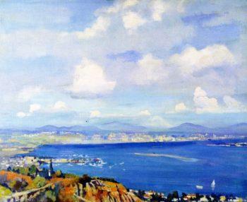San Diego Bay | Alson Skinner Clark | oil painting