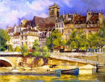 Saint Gervais | Alson Skinner Clark | oil painting