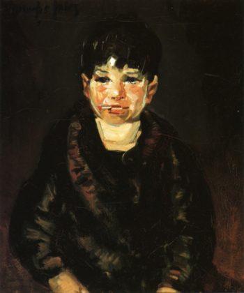 Butts   George Benjamin Luks   oil painting