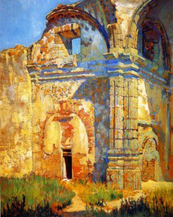 Ruins of San Juan Capistrano | Alson Skinner Clark | oil painting